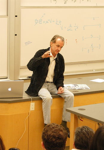 Edward Tufte at Stanford, 2006